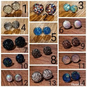 Jewelry - Handmade stud earrings